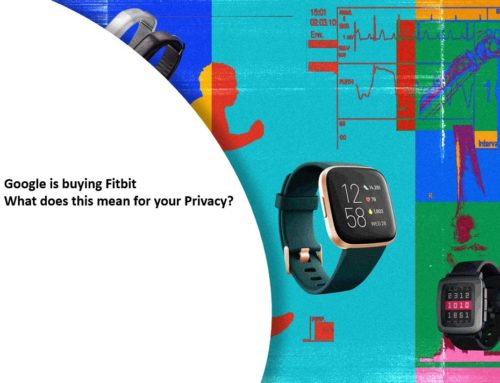 Google is buying Fitbit – What does this mean for your Privacy?