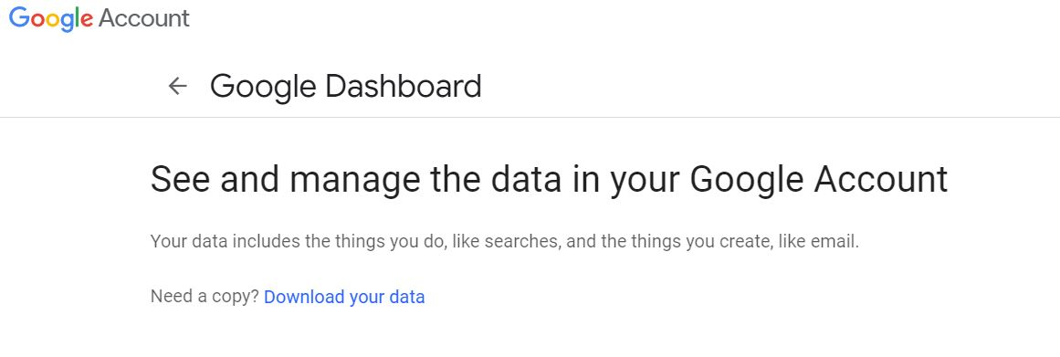 Metatrans Google Dashboard
