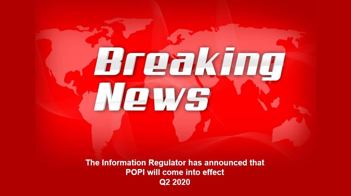 POPI - Breaking News!